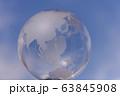地球儀 クリスタル 63845908