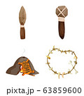 Vector design of ancient and age symbol. Collection of ancient and archeology stock symbol for web. 63859600