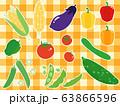 夏野菜6 野菜 ベジタブル 63866596