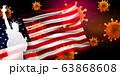 アメリカ コロナ ウイルス 背景 63868608