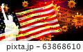アメリカ コロナ ウイルス 背景 63868610