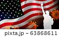 アメリカ コロナ ウイルス 背景 63868611