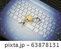 パソコン 鍵 イメージ 63878131