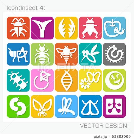アイコン・昆虫(Insect 4)Vector Design 63882009