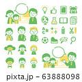 Multinational school illustration 63888098