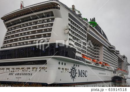 ジェノバ港 63914518