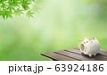 背景-和-和風-夏-蚊取り線香-縁台-紅葉 63924186