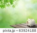 背景-和-和風-夏-蚊取り線香-縁台-紅葉 63924188