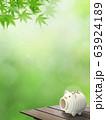 背景-和-和風-夏-蚊取り線香-縁台-紅葉 63924189