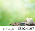 背景-和-和風-夏-蚊取り線香-縁台 63924197