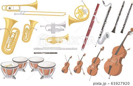 オーケストラで使われる楽器いろいろ 63927920
