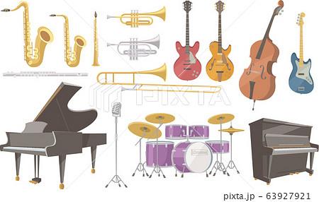 ジャズ演奏に使われる楽器いろいろ 63927921