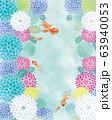 金魚:金魚 金魚すくい 泳ぐ お祭り おしゃれ 和 淡水魚 和風 アクアリウム 63940053