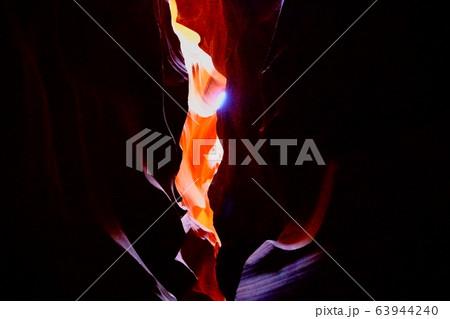 【アリゾナ州】アンテロープキャニオン 炎 63944240