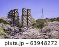 【静岡県】満開の桜に包まれた、韮山反射炉 63948272