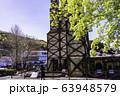 【静岡県】桜咲いた、韮山反射炉 63948579
