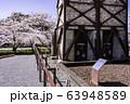 【静岡県】桜咲いた、韮山反射炉 63948589
