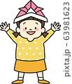 こどもの日(かぶとを被った女の子) 63981623