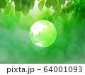 新緑(背景素材) 64001093