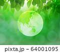 新緑(背景素材) 64001095