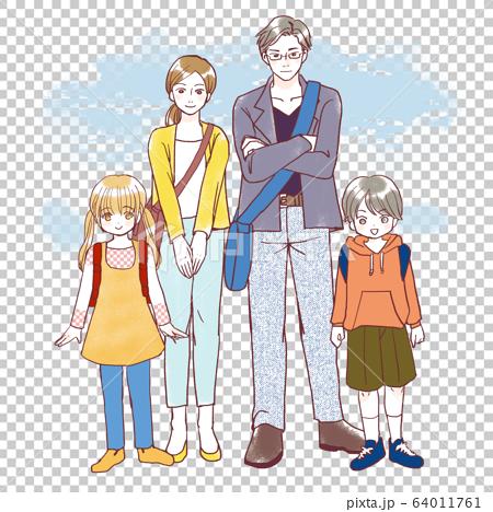 가족 부모와 자식 여행 레저 64011761
