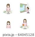 感染予防 うがい・手洗い・換気・マスク セット(女子学生) 64045128