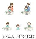 感染予防 うがい・手洗い・マスク セット(男児) 64045133