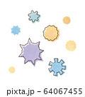 ウィルスと花粉 64067455