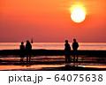 天神崎の夕日 64075638