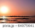 天神崎の夕日 64075641