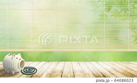 背景-日本の夏-イメージ 64086023