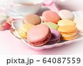 ティータイム マカロン 紅茶 洋菓子 お菓子 64087559