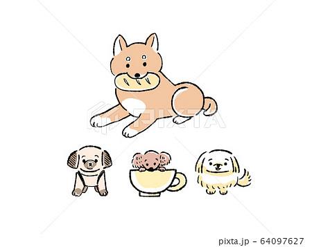 犬 イラスト セット 64097627