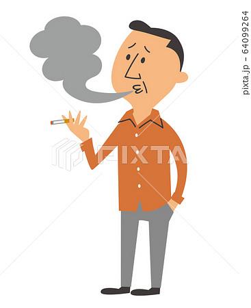 タバコ 喫煙 64099264