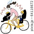 交通事故 自転車 64116672