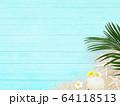 背景-トロピカル-ブルー 64118513