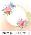 花 フレーム 枠 64119550