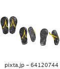 ビーチサンダル3パターン 64120744