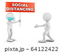 characters SOCIAL DISTANCING 64122422