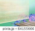 背景-紫陽花-梅雨-縁側 64155666