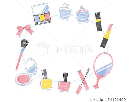 illustration of bath and make up 64191409
