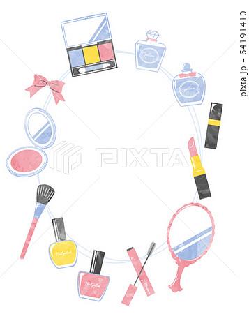 illustration of bath and make up 64191410
