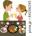 カップル焼き肉 64206295