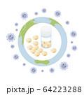 ウィルスの治療薬が世界を救う 64223288