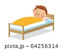 眠る男性 64256314