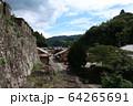 石見銀山の町並み 64265691