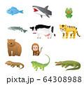 動物いろいろ 64308988