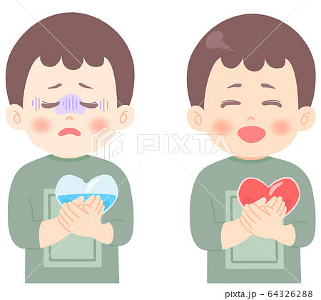 メンタルヘルス についてのイラスト (タッチ やわらかめ) 64326288