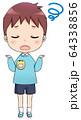 制服を着た幼稚園児 男の子 分からない 64338856