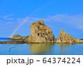 【岩手県】虹と浄土ヶ浜 64374224